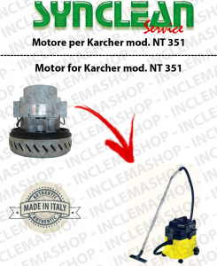 NT 351 Vacuum motor SYNCLEAN  for vacuum cleaner KARCHER