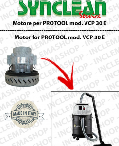 VCP 30 E Vacuum motor SYNCLEAN  for vacuum cleaner PROTOOL