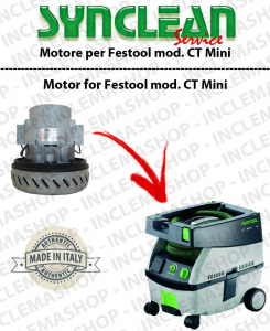 CT Midi Vacuum motor SYNCLEAN  for vacuum cleaner FESTOOL