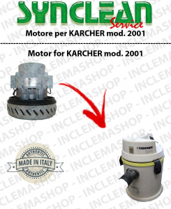 2001 Vacuum motor SYNCLEAN  for vacuum cleaner KARCHER