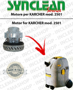 2501 Vacuum motor SYNCLEAN  for vacuum cleaner KARCHER