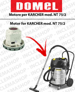 NT 75/2  Vacuum motor DOMEL for vacuum cleaner KARCHER