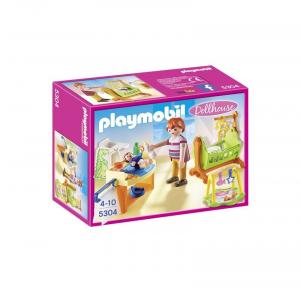 PLAYMOBIL CAMERETTA CON FASCIATOIO 5304