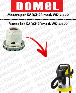 WD 5.800 Vacuum motor DOMEL for vacuum cleaner KARCHER