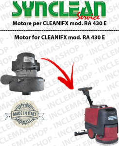 RA  430 E Vacuum motor SYNCLEAN for scrubber dryer CLEANFIX