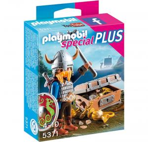 PLAYMOBIL VICHINGO CON TESORO 5371