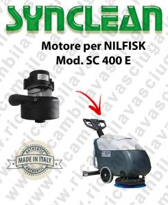 SC 400 E Vacuum motor SYNCLEAN for scrubber dryer NILFISK