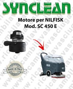 SC 450 E Vacuum motor SYNCLEAN for scrubber dryer NILFISK