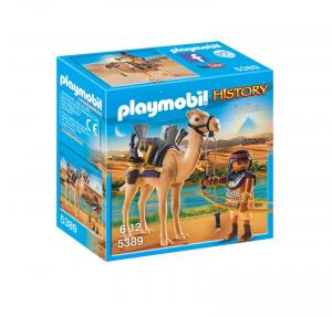 PLAYMOBIL GUERRIERO EGIZIO CON CAMMELLO 5389