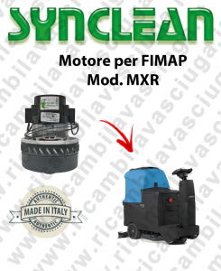 MXR Vacuum motor SYNCLEAN for scrubber dryer FIMAP