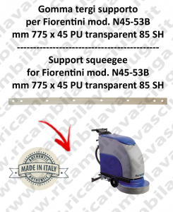 N45-53B squeegee rubber support for scrubber dryer  FIORENTINI