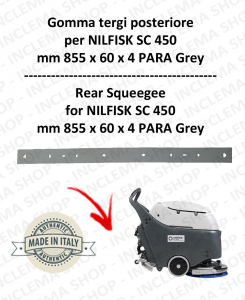 SC 450 squeegee rubber back for scrubber dryer NILFISK