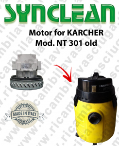 NT 301 old Vacuum motor SYNCLEAN  for vacuum cleaner KARCHER