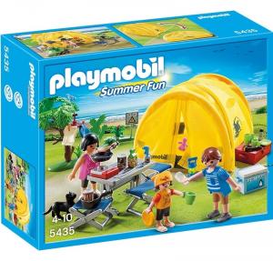 PLAYMOBIL FAMIGLIA IN CAMPEGGIO 5435
