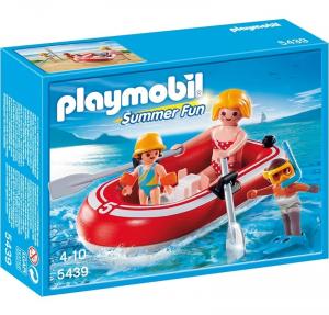 PLAYMOBIL BAGNANTI CON GOMMONE 5439