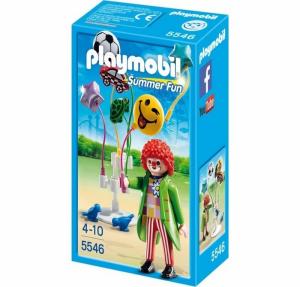 PLAYMOBIL CLOWN CON PALLONCINI 5546
