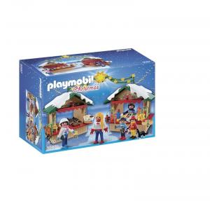 PLAYMOBIL MERCATINO DI NATALE 5587
