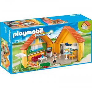 PLAYMOBIL CASA DELLE VACANZE PORTATILE cod. 6020