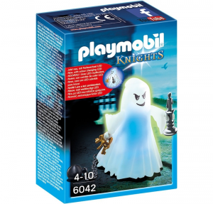 PLAYMOBIL FANTASMA LUMINOSO DEL CASTELLO 6042