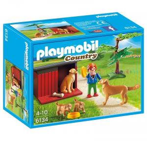 PLAYMOBIL CUCCIA FAMIGLIA DI CANI cod. 6134