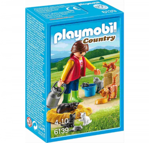 PLAYMOBIL FAMIGLIA DI GATTINI COLORATI cod. 6139
