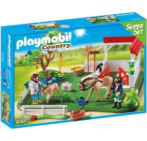 PLAYMOBIL SUPERSET CLINICA DEI PONY cod. 6147