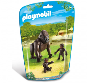 PLAYMOBIL GORILLA CON PICCOLI cod. 6639