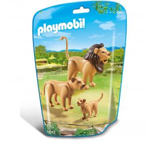 PLAYMOBIL FAMIGLIA DI LEONI cod. 6642