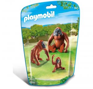 PLAYMOBIL FAMIGLIA DI ORANGHI cod. 6648