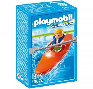 PLAYMOBIL RAGAZZO CON KAYACK 6674