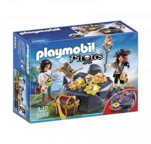 PLAYMOBIL NASCONDIGLIO DEL TESORO 6683