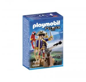 PLAYMOBIL CAPITANO DEI PIRATI 6684