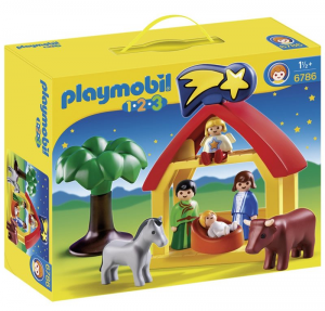 PLAYMOBIL CAPANNA DI GESU' BAMBINO 1.2.3. 6786