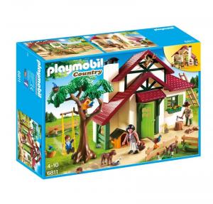 PLAYMOBIL CASA RIFUGIO DEL GUARDABOSCHI 6811