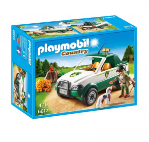 PLAYMOBIL PICK UP DEL GUARDABOSCHI 6812