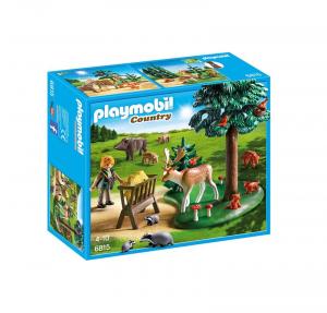 PLAYMOBIL GUARDABOSCHI CON ANIMALI 6815