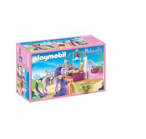 PLAYMOBIL STALLA REALE CON PUROSANGUE 6855