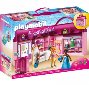 PLAYMOBIL BOUTIQUE PORTATILE cod. 6862