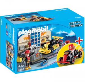 PLAYMOBIL GO KART RACE TEAM 6869