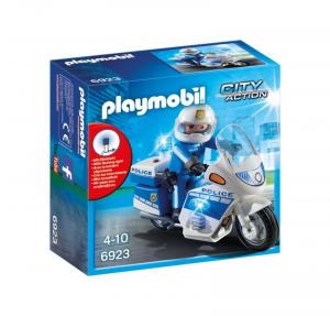 PLAYMOBIL MOTO DELLA POLIZIA 6923