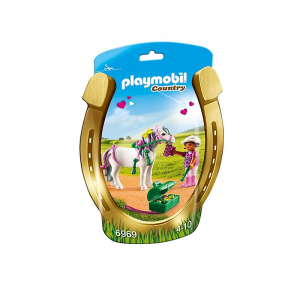 PLAYMOBIL PONY HEARTS 6969