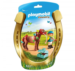 PLAYMOBIL PONY BUTTERFLY 6971