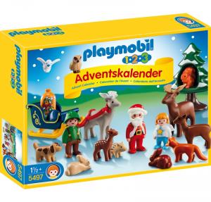 PLAYMOBIL CALENDARIO DELL'AVVENTO 123: CHRISTMAS IN THE FOREST 5497