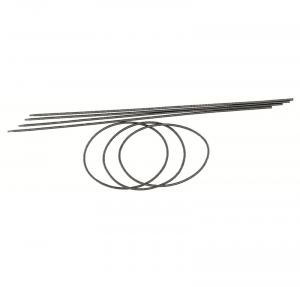 WILESCO Z 825 CINGHIA DIAMETRO 2,5 mm LUNGHEZZA 260 mm 5 PEZZI
