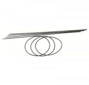 WILESCO Z 827 CINGHIA DIAMETRO 2,5 mm LUNGHEZZA 500 mm 5 PEZZI