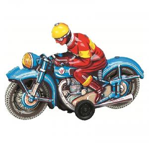 WILESCO MOTOCICLETTA BLU 10589