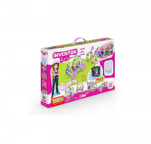 ENGINO INVENTOR GIRL 30 MODELLI MOTORIZED SET 094381