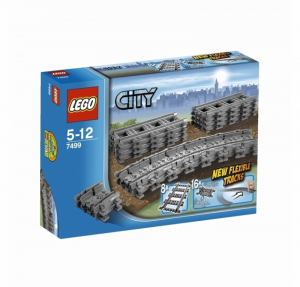 LEGO CITY TRAINS BINARI FLESSIBILI 7499