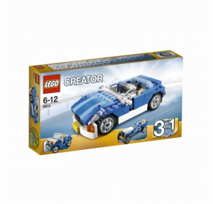 LEGO CREATOR AUTO SPORTIVA BLU 6913