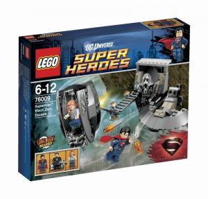 LEGO SUPER HEROES SUPERMAN FUGA DA BLACK ZERO 76009